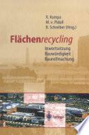 Flächenrecycling
