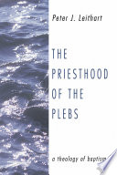 The Priesthood of the Plebs The Coming Of The New