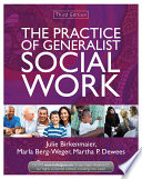 The Practice Of Generalist Social Work