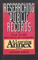Researching Public Records
