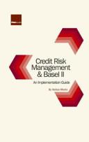 Credit Risk Management and Basel II