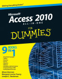 download ebook access 2010 all-in-one for dummies pdf epub