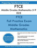Ftce Middle Grades Mathematics 5 9 025