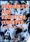 Probability Statistical Concepts An Introduction