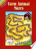 Farm Animal Mazes