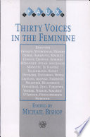 Thirty Voices in the Feminine Beauvoir, Ernaux, Yourcenar ...