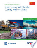 Ebook Green Investment Climate Country Profile – China Epub Aldo Baietti, Andrey Shlyakhtenko and Roberto La Rocca Apps Read Mobile