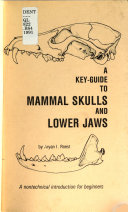 Key Guide to Mammal Skulls and Lower Jaws
