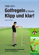 Golfregeln und Etikette  klipp und klar