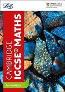 Cambridge IGCSE® Maths Revision Guide
