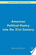 American Political Poetry In The 21st Century book