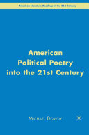 American Political Poetry in the 21st Century