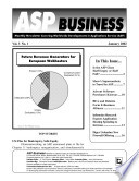 ASP Business Monthly Newsletter