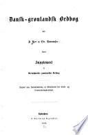 Dansk gr  nlandsk ordbog
