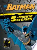 Book Batman 5 Minute Stories  DC Batman