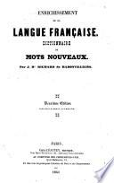 Enrichissement de la langue francaise