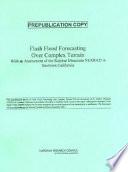 Flash Flood Forecasting Over Complex Terrain  book