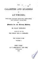 Calamities and Quarrels of Authors Book PDF