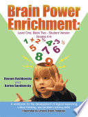 Brain Power Enrichment  Level One  Book Two Student Version Grades 4 6