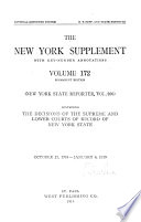 The New York Supplement Book PDF