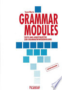 Grammar Modules