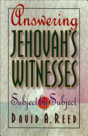 Answering Jehovah's Witnesses Book