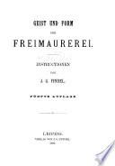 Schriften über Freimaurerei ...