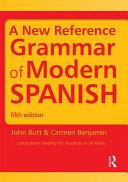 download ebook a new reference grammar of modern spanish pdf epub