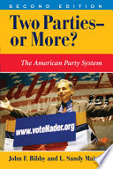 Two Parties  or More  Book PDF