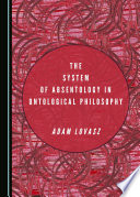 The System of Absentology in Ontological Philosophy