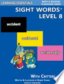 Sight Words Plus Level 8  Sight Words Flash Cards with Critters for Grade 3   Up
