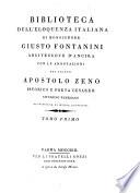 Biblioteca dell'eloquenza italiana