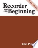 Recorder From The Beginning  Teacher s Book 2