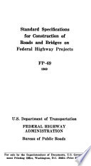 Standard Specifications For Construction Of Roads And Bridges On Federal Highway Projects Fp 61