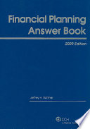 Financial Planning Answer Book  2009