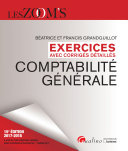 Exercices avec corrig  s d  taill  s   Comptabilit   g  n  rale 2017 2018