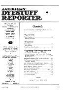 American Dyestuff Reporter
