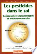 Les pesticides dans le sol