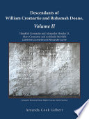 Descendants of William Cromartie and Ruhamah Doane