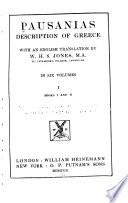 Pausanias Description of Greece