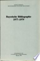 Bayerische Bibliographie  1977 1979