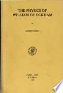 The Physics of William of Ockham