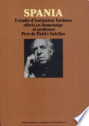 illustration du livre Spania
