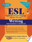 ESL Intermediate Advanced Writing