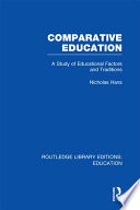 Comparative Education  RLE Edu A
