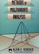 methods of multivariate analysis basic applications