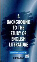 Background to the study of English literature