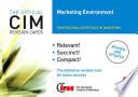 CIM Revision Cards Marketing Environment