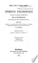 Dell  uso e dell abuso dello spirito filosofico durante il secolo decimottavo di G S M  Portalis