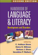 Handbook of Language and Literacy, Second Edition The Literature This Volume Examines The Linkages Between